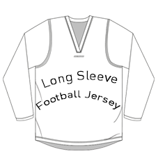 Long Sleeve Football Jersey