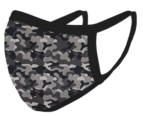 Grey Camo Mask_FLOATING