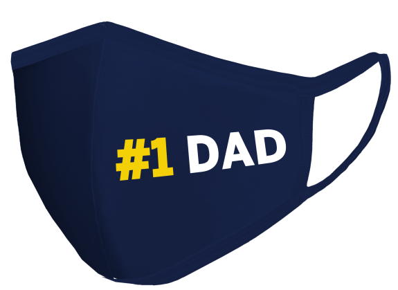 Navy FATHERS DAY MASK outer